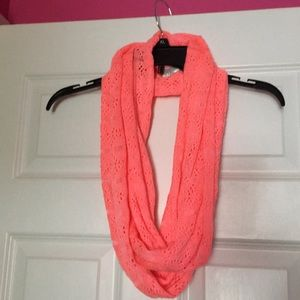 Accessories - pink infinity scarf